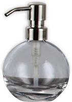 Дозатор Nicol Apollo  2131900 настольный для жидкого мыла хром / хрусталь прозрачный