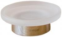 Мыльница Nicol Stella 2161800 настольная хром / стекло матовое