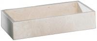 Лоток Nicol Victoria 2313012 настольный для полотенца натуральный камень travertin