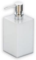 Дозатор Nicol Blanca 2401900 настольный для жидкого мыла натуральный камень / хром