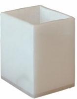 Стакан Nicol Blanca 2402011 настольный натуральный камень (алебастр