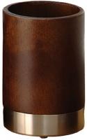 Стакан Nicol Kenia 2422020 настольный дерево орех / нержавеющая сталь