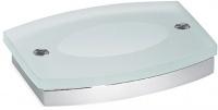 Мыльница Open Kristallux Tendo 0TD 11 013b настенная хром / стекло