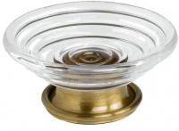 Мыльница Pomdor Windsor 26.60.90.002 настольная хром / стекло