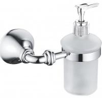Дозатор жидкого мыла Rose RG12 RG1244 подвесной хром/стекло