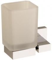 Стакан Sanibano Celeste H4020/08 подвесной хром / стекло матовое