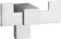 Крючок Sanibano Elegance H8700-09d двойной хром
