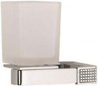 Стакан Sanibano Diamond H9000/16 подвесной хром / стекло матовое / Swarovski