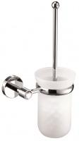 Ершик Sanibano Sahara   H9700-10 Crystal для туалета подвесной хром /стекло матовое / Swarovski