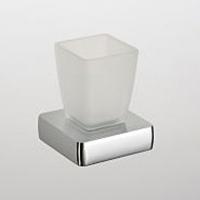 Стакан Schein Elite 7057012 настольный хром /стекло матовое