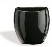 Стакан StilHaus Zefiro 653(NE) настольный керамика черная