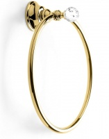 Полотенцедержатель StilHaus Smart Light SL07(16) ORO кольцо золото / Swarovski