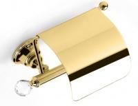 Бумагодержатель StilHaus Smart Light SL11c(16) ORO закрытый золото / Swarovski