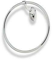 Полотенцедержатель StilHaus Zefiro ZE07(08) кольцо хром