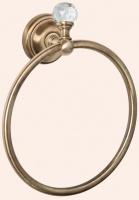 Полотенцедержатель Tiffany TW Crystal TWCR015 BR SW кольцо бронза/Swarovski