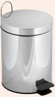 Ведро Tiffany TW Harmony TWCV010 CR с крышкой 3 литра хром