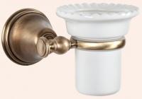 Стакан Tiffany TW Harmony TWHA109 CR настенный хром / керамика