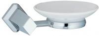 Мыльница Wasserkraft Aller K-1100 K-1129С подвесная хром/керамика белая