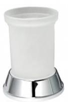 Стакан Wasserkraft Donau K-2400 K-2428 настольный хром/стекло матовое