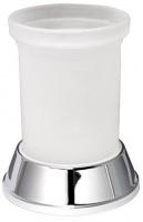Дозатор для мыла Wasserkraft Donau K-2400 K-2499 настольный хром/стекло матовое