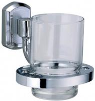 Стакан Wasserkraft Oder K-3000 K-3028 подвесной хром/стекло прозрачное