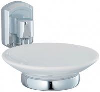 Мыльница Wasserkraft Oder K-3000 K-3029С подвесная хром/керамика белая