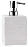 Дозатор для мыла Wasserkraft Leine K-3800 K-3899 настольный цвет серый