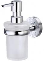Дозатор для мыла Wasserkraft Isen K-4000 K-4099 подвесной хром/стекло матовое