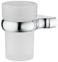 Стакан Wasserkraft Berkel K-6800 K-6828 подвесной хром/стекло матовое
