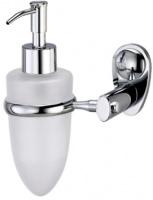 Дозатор для мыла Wasserkraft Main K-9200 K-9299 подвесной хром/стекло матовое