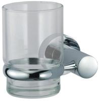 Стакан Wasserkraft Donau K-9400 K-9428 подвесной хром/стекло прозрачное