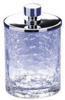 Контейнер малый Windisch Addition Craquele 88124CR настольный стекло `кракле` / хром