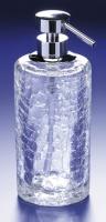 Дозатор для жидкого мыла Windisch Addition Craquele 90432CR настольный стекло `кракле` / хром