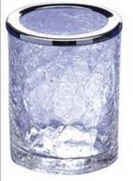Стакан Windisch Addition Craquele 91125CR настольный стекло `кракле` / хром
