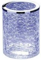 Стакан Windisch Addition Craquele 91126CR настольный стекло `кракле` / хром