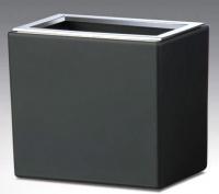 Стакан Windisch Box Lineal Crystal Matt 91318MCR настольный хром /стекло матовое белое