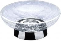 Мыльница Windisch Addition Craquele 92131CR настольная стекло `кракле` / хром