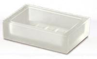Мыльница Windisch Box Lineal Crystal Matt 92173M настольный стекло матовое белое