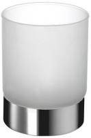 Стакан Windisch Box Lineal Crystal Matt 94124MCR настольный хром /стекло матовое белое