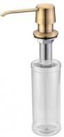 Дозатор жидкого мыла Zorg Inox ZR -20 BR встраиваемый бронза