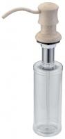 Дозатор жидкого мыла Zorg Inox ZR-21 Kvarc встраиваемый кварц
