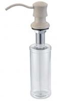 Дозатор жидкого мыла Zorg Inox ZR-21 Pesochnyj встраиваемый песочный