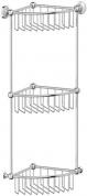 Подробнее о Полка-решетка 3SC Stilmar STI 009 угловая тройная 23 см хром