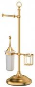 Подробнее о Стойка с аксессуарами 3SC Stilmar UN STI 334 напольная матовое золото / керамика