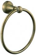 Подробнее о Полотенцедержатель Aksy Bagno Queen A8507 кольцо бронза