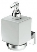 Подробнее о Дозатор ALL.PE Musa  MU108 CR для жидкого мыла хром /белая керамика