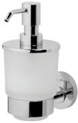 Подробнее о Дозатор AM.PM Bliss L A5536900 для жидкого мыла подвесной хром / стекло матовое