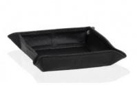 Подробнее о Лоток Andrea House AX12208 для аксессуаров 16 х 16 см черный (экокожа)