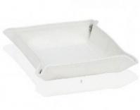 Подробнее о Лоток Andrea House AX62321 для аксессуаров 16 х 16 см белый (экокожа)