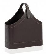 Подробнее о Сумка-газетница Andrea House AX6738 цвет коричневый (экокожа)